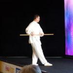 Qi gong au bâton par Benoît